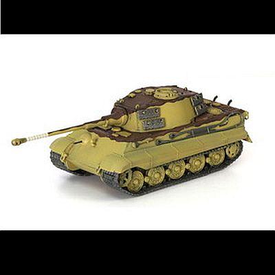 完成品WW.II ドイツ軍 重戦車キングタイガー ヘンシェル砲塔 第509重戦車大隊ハンガリー1945
