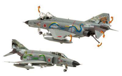 Mシリーズ F-4EJ改 航空自衛隊 第8飛行隊 空自プレ50周年記念塗装機