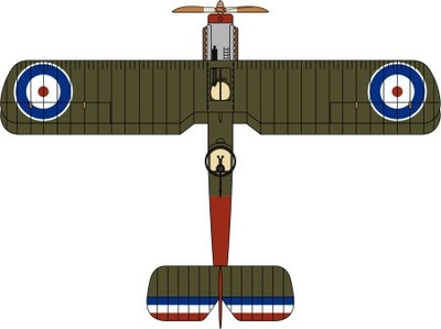 De Havilland DH4 No.5 Squadron RNAS 1918