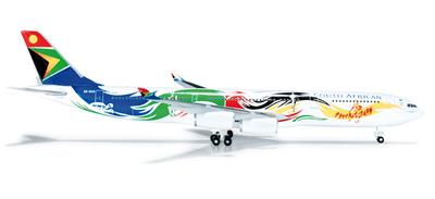 A340-300 南アフリカ航空 「オリンピック塗装」