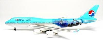 B747-400 大韓航空 「StarCraft Ⅱ」 HL7491