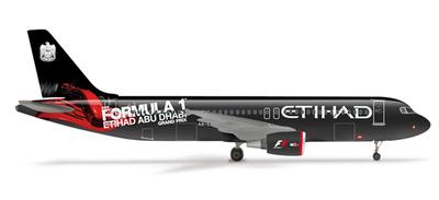 A320 エティハド航空 「フォーミュラ1」 アラブ首長国連邦