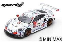 Porsche 911 RSR No.911 Porsche GT Team Winner GTLM class Petit Le Mans 2018 P. Pilet - N. Tandy - F.