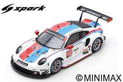Porsche 911 RSR No.912 Porsche GT Team 24H Daytona 2019 1/43 E. Bamber - L. Vanthoor - M. Jaminet
