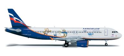 A320 アエロフロート・ロシア航空 「ソチオリンピック2014」