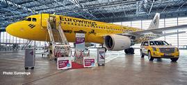 """1/200 A320 ユーロウイングス """"Hertz 100 Jahre"""" D-ABDU"""