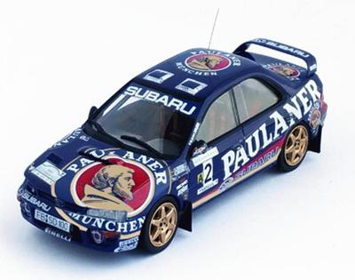 スバル インプレッサ 1997年Sumava Rally 1位 Armin Kremer / Sven Behling 1/43