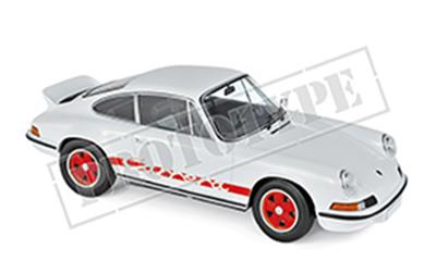 ポルシェ 911 RS 1973 ホワイト/レッド 1/18