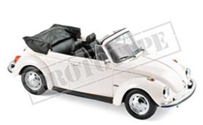 VW 1303 カブリオレ 1972 ホワイト 1/18