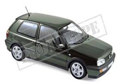 VW ゴルフ VR6 1996 メタリックグリーン 1/18