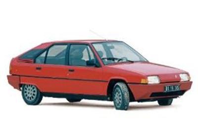 シトロエン BX 16 TRS 1983 ヴァレルンガ レッド 1/12