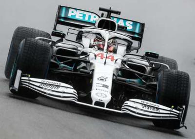 1/43 Spark F1 German GP 2019 - JULY 2019Mercedes-AMG Petronas Motorsport No.44 German GP 2019