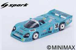 Spark 1/43 Classic F1 Reproduction - JUL 2019 TOYOTA 86 C No.36 24H Le Mans 1986