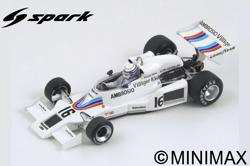 1/43 Spark  Classic F1 Reproduction - JUL 2019 Shadow DN8 No.16 Japanese GP 1977  Riccardo Patrese