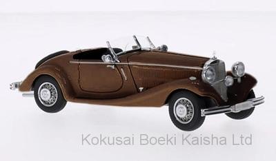 """1/43 """"メルセデス 290 ロードスター W18  1937   ダークブラウン"""""""