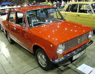 1/43  ラーダ 1200 1970 オレンジ