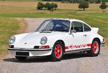1/43  ポルシェ 911 カレラ RS 2.7 1973 ホワイト/レッド
