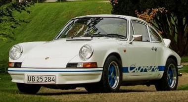 1/43  ポルシェ 911 カレラ RS 2.7 1973 ホワイト/ブルー