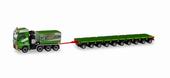 "1/87 MAN TGX XXL 大型トラクター砂利積載車、axle lines ""Kübler"""