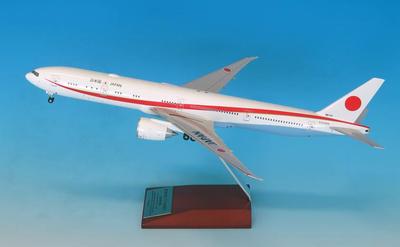 1/200 BOEING 777-300ER 80-1111政府専用機 完成品(WiFiレドーム・ギアつき)
