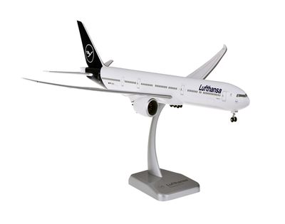 1/200  B777-9 ルフトハンザ航空  ランディングギア付