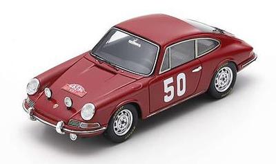 1/43 Porsche 911 No.50 Monte Carlo Rally 1966        H. Perrier - P. du Pasquier