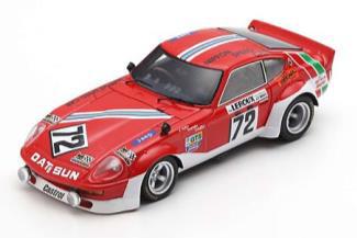 1/43  Datsun 240Z No.72 24H Le Mans 1975     A. Haller - H. Schuller - B. Maechler