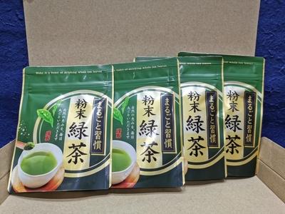 粉末緑茶(スプ-ン付) 50g入×4個入