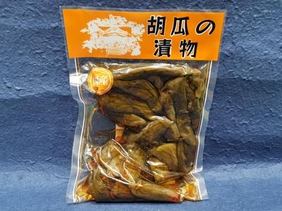 成田沢田漬物のピリ辛きゅうり