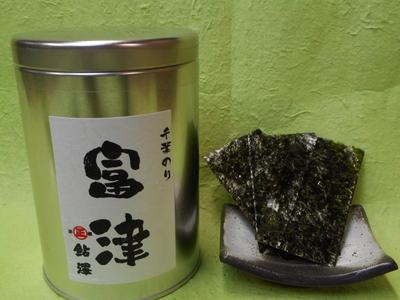 焼のり産地缶(富津)8切80枚入