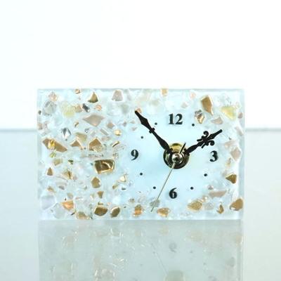 ベネチアングラス置時計 品番.pelt01-82-r