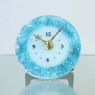 ベネチアングラス置時計 品番.pelt01-85-t