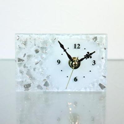 ベネチアングラス置時計 品番.pelt01-91r