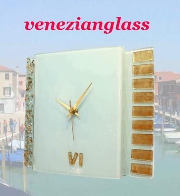 ベネチアングラス掛け時計 pelt05-53
