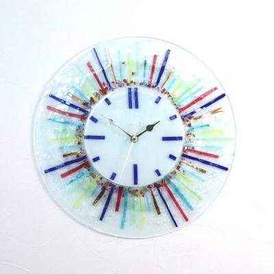 ベネチアングラス掛け時計 pelt06-08-t