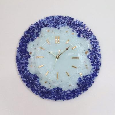 ベネチアングラス掛け時計 pelt06-24-t