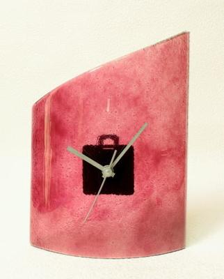 デザイン置時計 cnoat21x26ruby