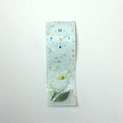 ベネチアングラス掛け時計 pelt17-50bi
