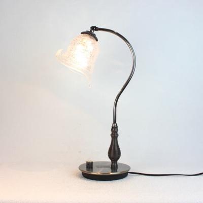 ベネチアングラステーブルランプ fc-570ay-calla-sbruffo-clear