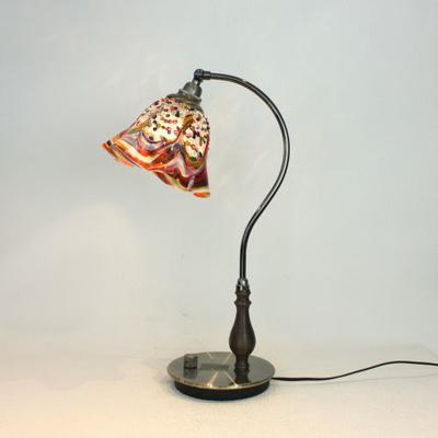 ベネチアングラステーブルランプ fc-570ay-fantasy-smerlate-arlecchino