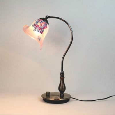 ベネチアングラステーブルランプ fc-570ay-goti-p-calla-pink