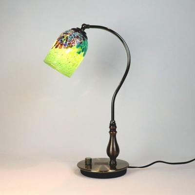 ベネチアングラステーブルランプ fc-570ay-goti-p-goto-green