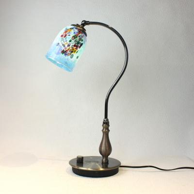 ベネチアングラステーブルランプ fc-570ay-goti-p-goto-azure
