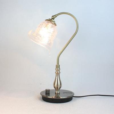 ベネチアングラステーブルランプ fc-210g-calla-sbruffo-clear