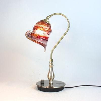 ベネチアングラステーブルラン fc-210g-calla-sbruffo-red-amber-amethyst