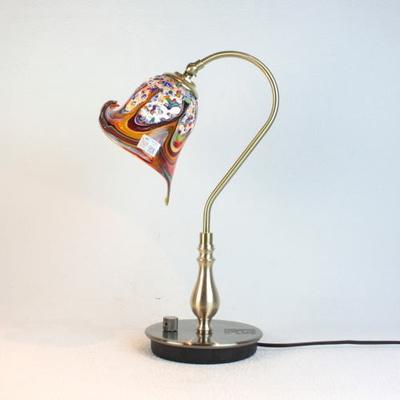 ベネチアングラステーブルランプ fc-210g-fantasy-calla-arlecchino