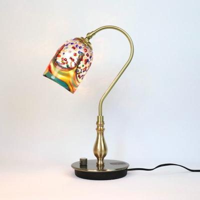 ベネチアングラステーブルランプ fc-210g-fantasy-goto-arlecchino