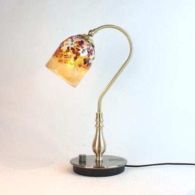 ベネチアングラステーブルランプ fc-210g-fantasy-goto-amber