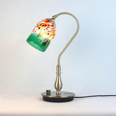 ベネチアングラステーブルランプ fc-210g-goto-green