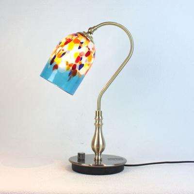 ベネチアングラステーブルランプ fc-210g-goto-azure